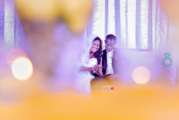 Nigerian Wedding in Dubai Bride and Groom Smile LoveweddingsNG Save the Date