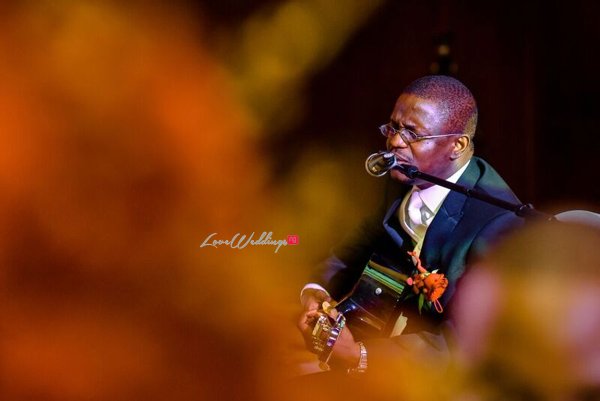 Nigerian Wedding in Dubai Groom Singing to Bride LoveweddingsNG Save the Date