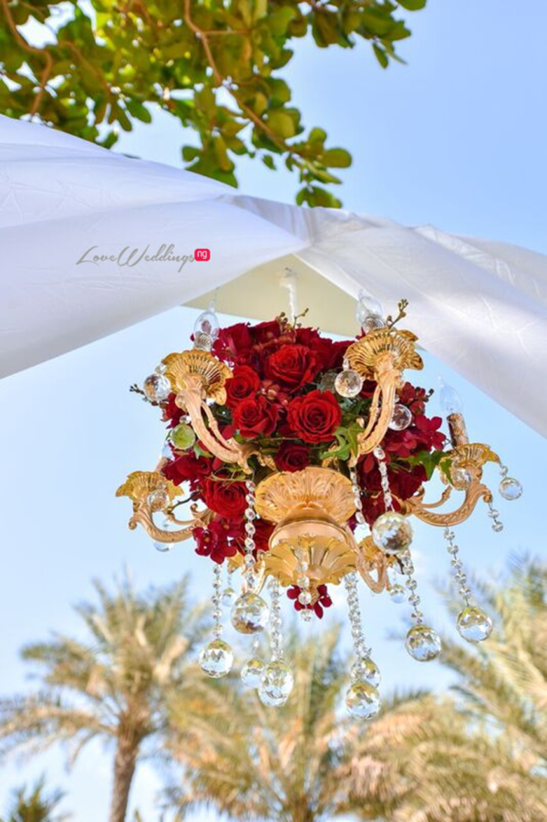 Nigerian Wedding in Dubai Wedding Decor LoveweddingsNG Save the Date