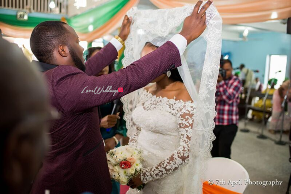 Nigerian White Wedding - Afaa and Percy 7th April Photography LoveweddingsNG 14