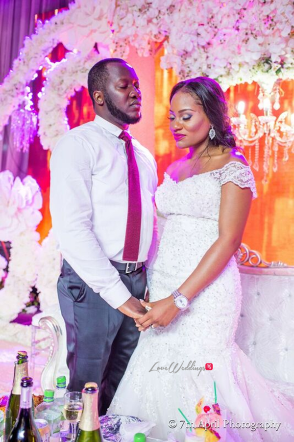 Nigerian White Wedding - Afaa and Percy 7th April Photography LoveweddingsNG 32