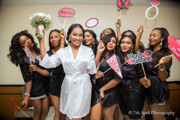 Nigerian White Wedding - Afaa and Percy 7th April Photography LoveweddingsNG 38