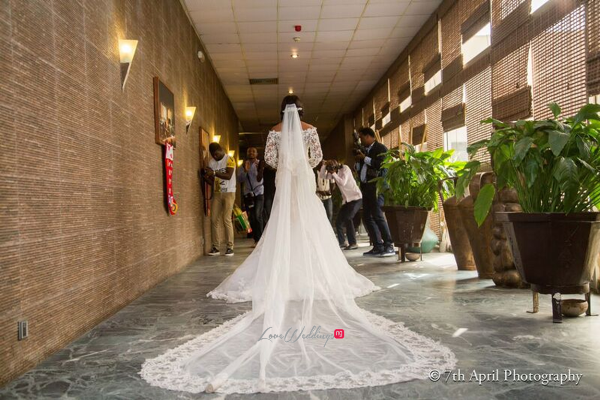 Nigerian White Wedding - Afaa and Percy 7th April Photography LoveweddingsNG 40