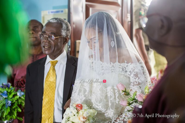 Nigerian White Wedding - Afaa and Percy 7th April Photography LoveweddingsNG 43