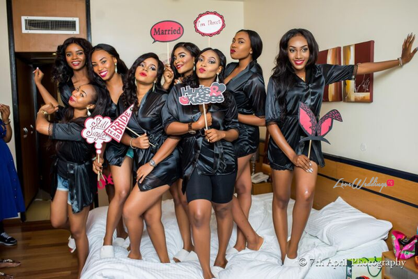 Nigerian White Wedding - Afaa and Percy 7th April Photography LoveweddingsNG 8