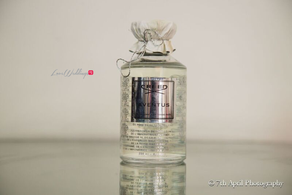 Nigerian White Wedding - Afaa and Percy - 7th April Photography LoveweddingsNG perfume 1