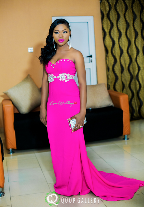 Nigerian White Wedding - Bride Second Dress - Teju Yinka LoveweddingsNG