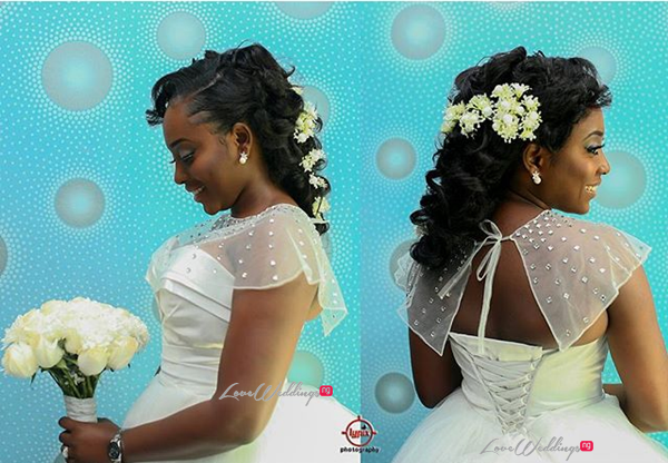Nigerian White Wedding - Caroline Tobi #CacaTobi LoveweddingsNG 3