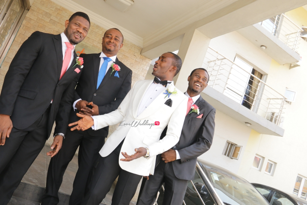 Nigerian White Wedding - Teju and Yinka LoveweddingsNG