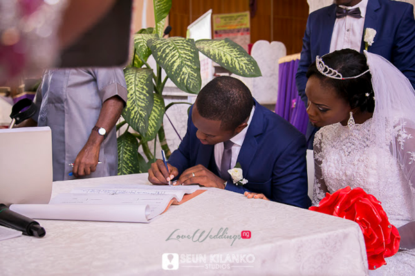 Nigerian White Wedding - Ukot and Dumebi Seun Kilanko Studios LoveweddingsNG 13