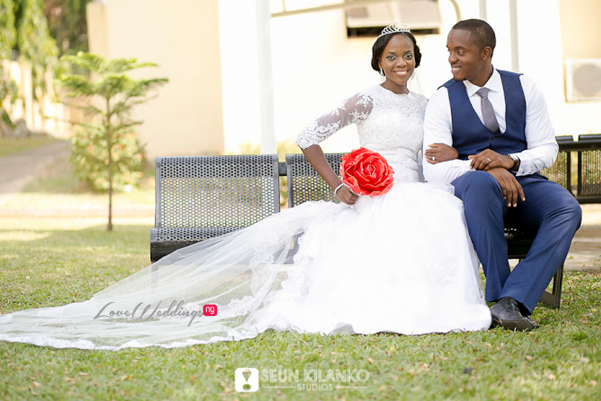 Nigerian White Wedding - Ukot and Dumebi Seun Kilanko Studios LoveweddingsNG 15