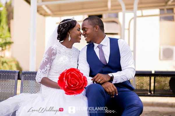 Nigerian White Wedding - Ukot and Dumebi Seun Kilanko Studios LoveweddingsNG 17