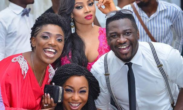 #OBI2016 Wedding Guests - Annie Idibia, Rita Dominic, Toke Makinwa feat
