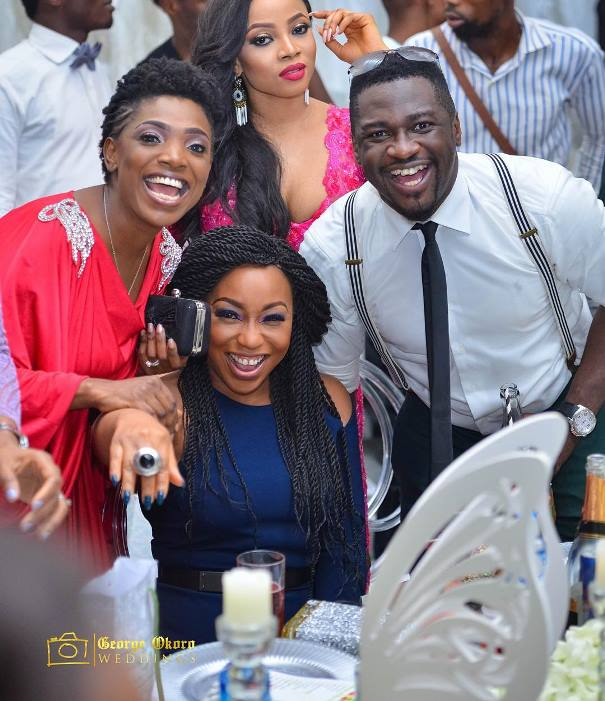 #OBI2016 Wedding Guests - Annie Idibia, Rita Dominic, Toke Makinwa
