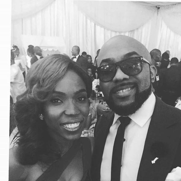 #OBI2016 Wedding Guests - Kemi Lala Akindoju and Banky W