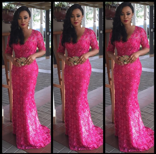 #OBI2016 Wedding Guests - Toke Makinwa