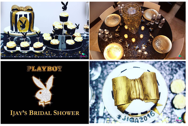 Playboy Themed Bridal Shower Partito by Ronnie LoveweddingsNG 11
