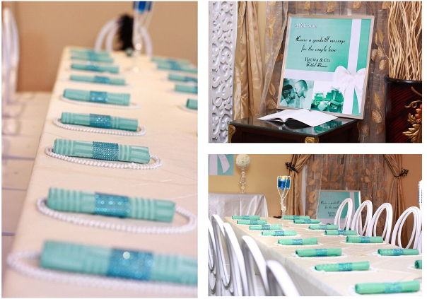 Tiffany & Co Themed Bridal Shower Partito by Ronnie LoveweddingsNG