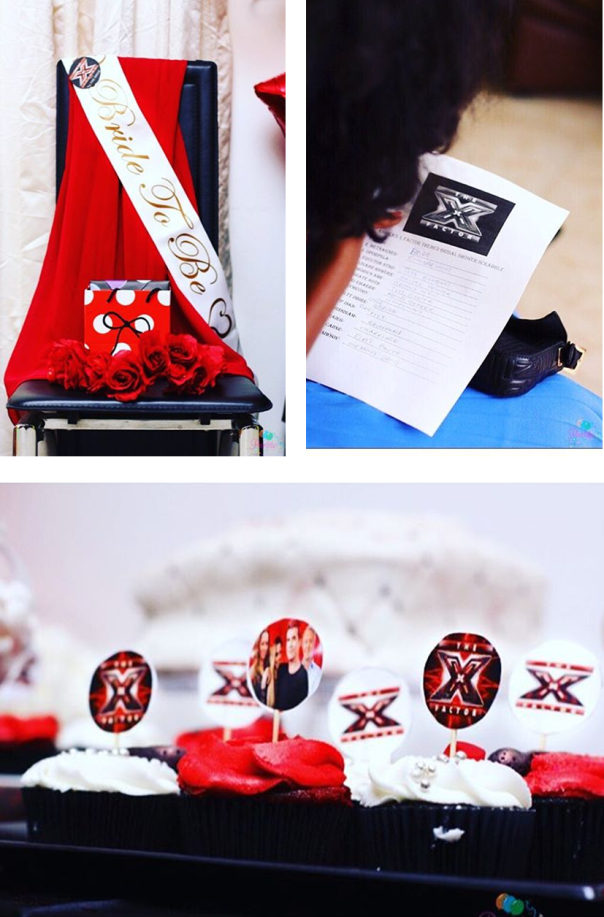 X Factor Themed Bridal Shower - Partito by Ronnie LoveweddingsNG 13