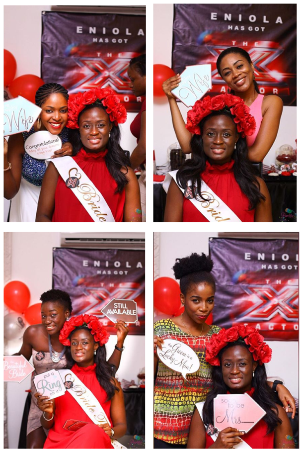 X Factor Themed Bridal Shower - Partito by Ronnie LoveweddingsNG 8