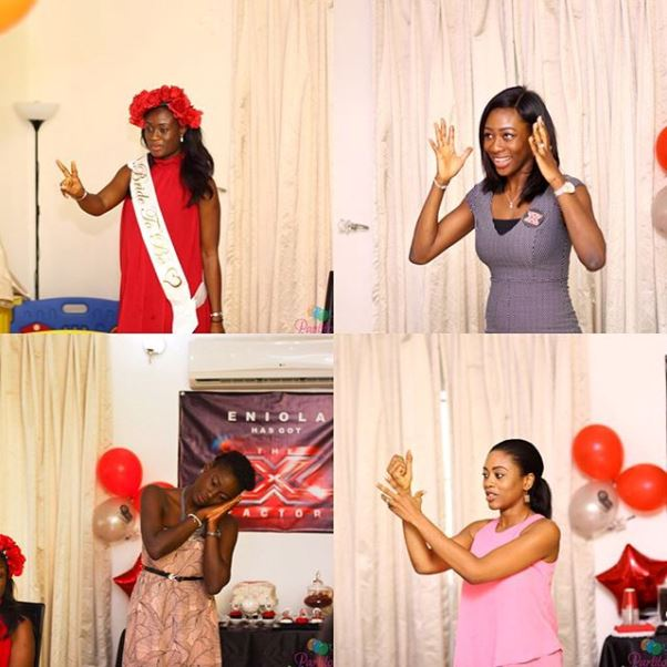 X Factor Themed Bridal Shower - Partito by Ronnie LoveweddingsNG 9