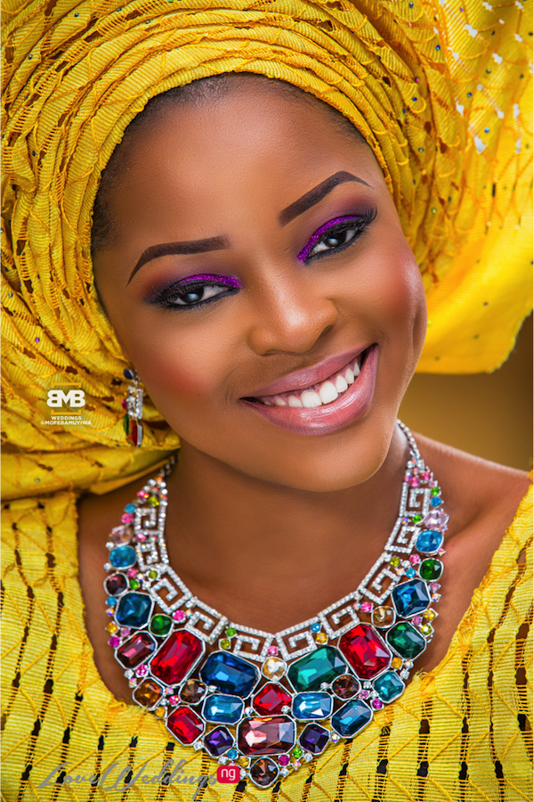 Yellow Traditional Braditional Inspiration BMB Photography LoveweddingsNG15