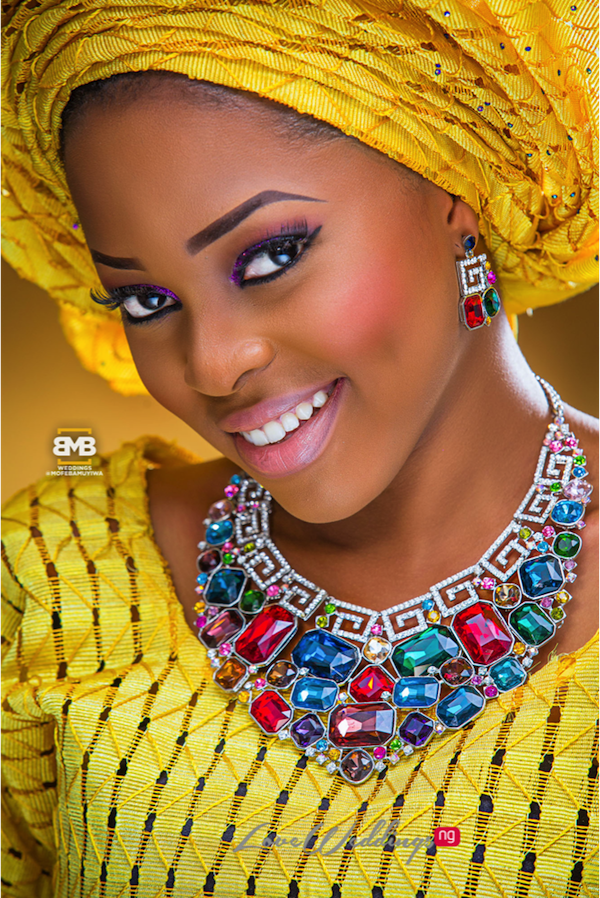 Yellow Traditional Bridal Inspiration BMB Photography LoveweddingsNG11