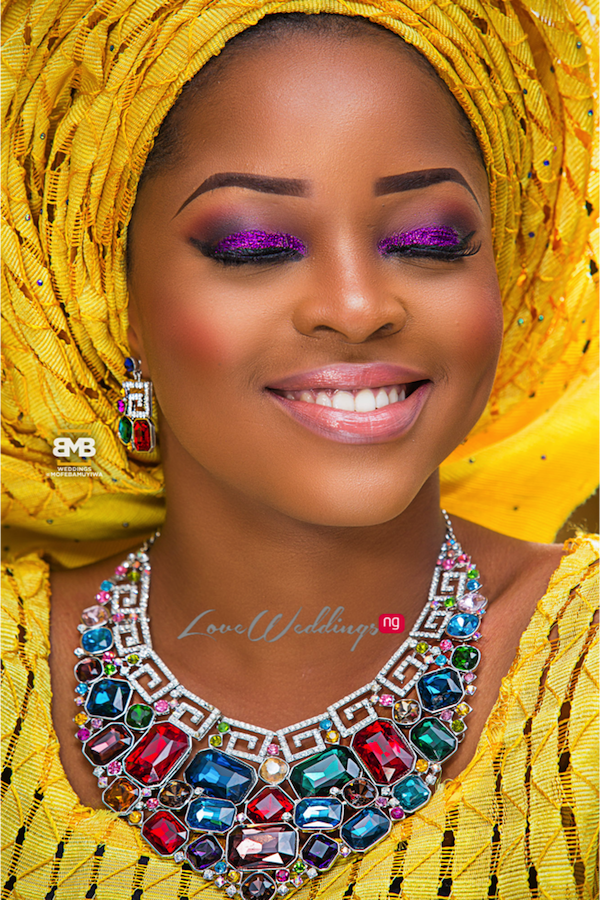 Yellow Traditional Bridal Inspiration BMB Photography LoveweddingsNG13