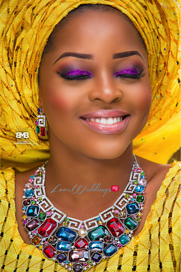 Yellow Traditional Bridal Inspiration BMB Photography LoveweddingsNG14