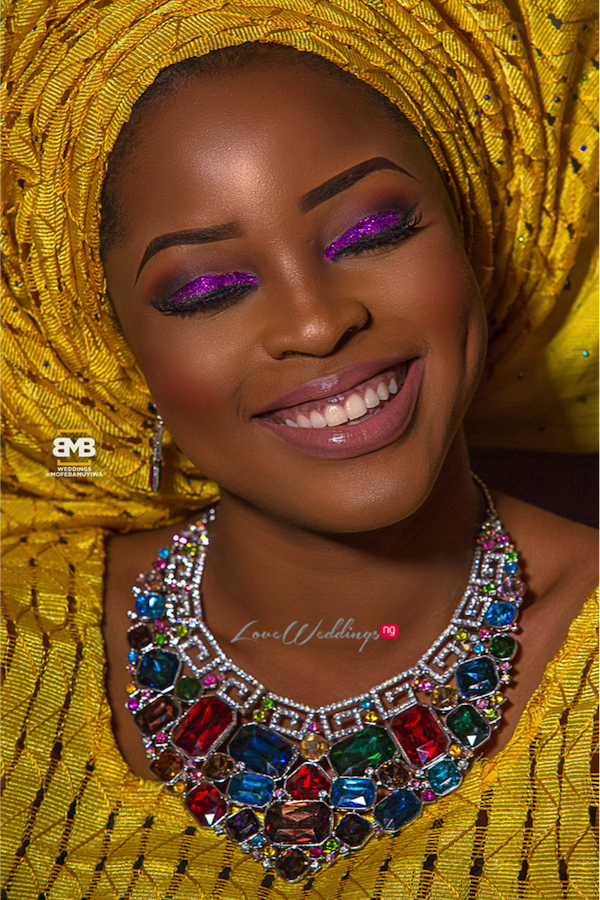 Yellow Traditional Bridal Inspiration BMB Photography LoveweddingsNG17