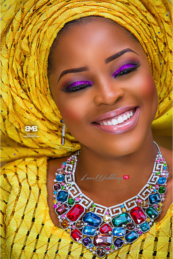 Yellow Traditional Bridal Inspiration BMB Photography LoveweddingsNG19