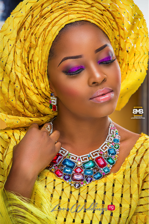 Yellow Traditional Bridal Inspiration BMB Photography LoveweddingsNG3