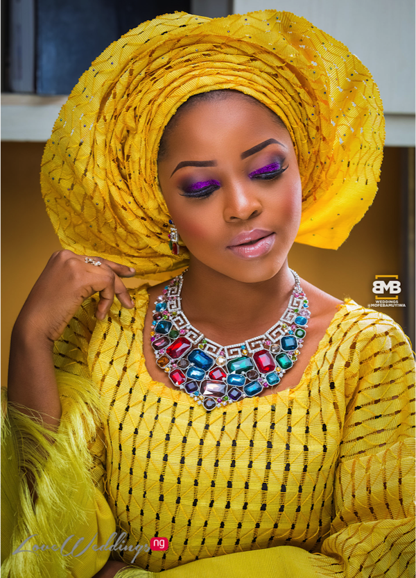 Yellow Traditional Bridal Inspiration BMB Photography LoveweddingsNG5