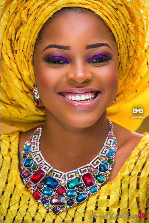 Yellow Traditional Bridal Inspiration BMB Photography LoveweddingsNG7