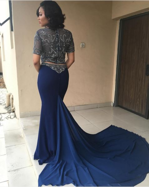 AMVCA2016 - Red Carpet to Aisle Inspiration LoveweddingsNG Anna Ebiere back
