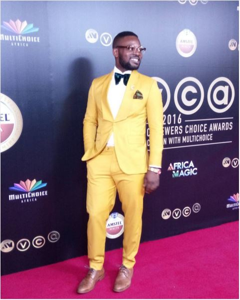 AMVCA2016 - Red Carpet to Aisle Inspiration LoveweddingsNG Falz The Bahd Guy