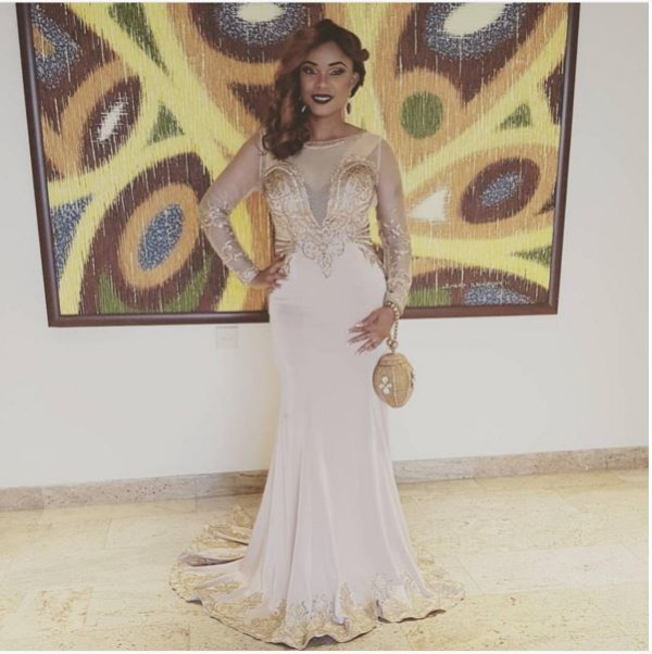 AMVCA2016 - Red Carpet to Aisle Inspiration LoveweddingsNG Iyabo Ojo