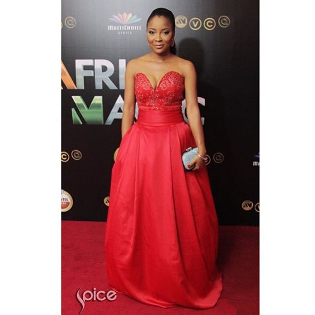 AMVCA2016 - Red Carpet to Aisle Inspiration LoveweddingsNG Linda Ejiofor