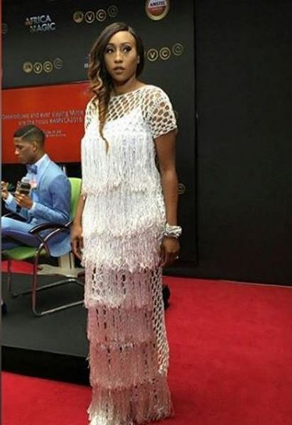 AMVCA2016 - Red Carpet to Aisle Inspiration LoveweddingsNG Veronica Odeka in Iamisigo