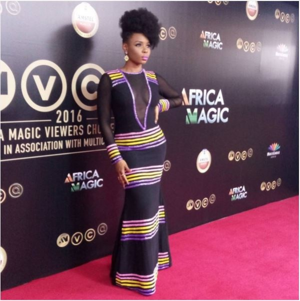 AMVCA2016 - Red Carpet to Aisle Inspiration LoveweddingsNG Yemi Alade
