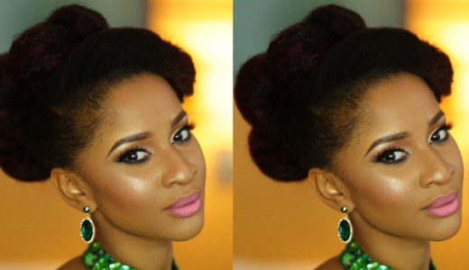 Adesua Etomi Makeup by T.Alamode Makeup LoveweddingsNG feat