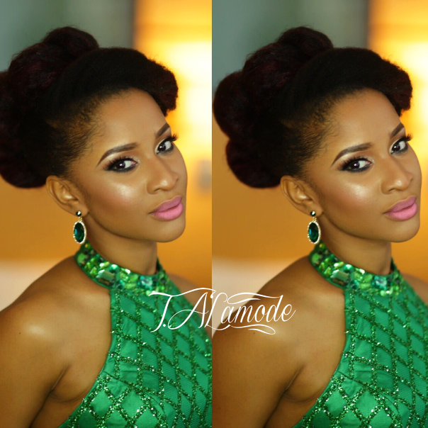 Adesua Etomi Makeup by T.Alamode Makeup LoveweddingsNG