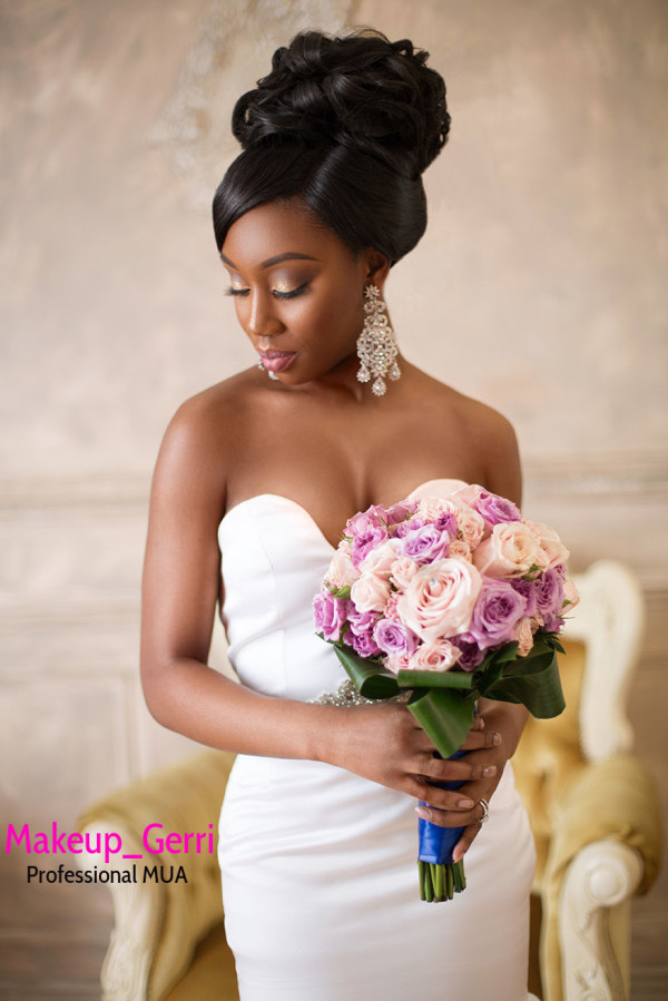 Bridal Makeup Inspiration Geraldine Kitenge LoveweddingsNG 1