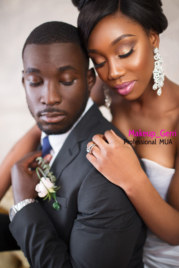 Bridal Makeup Inspiration Geraldine Kitenge LoveweddingsNG 4