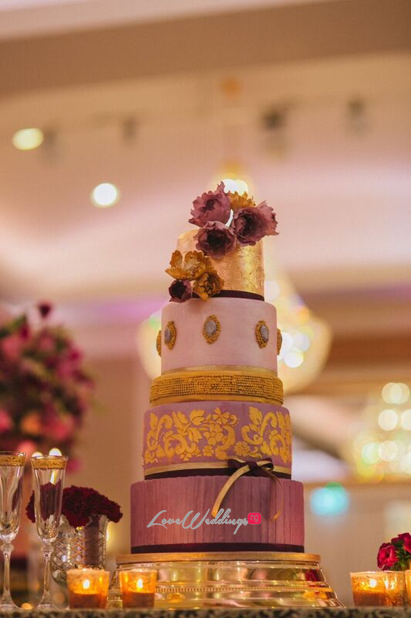 Gold Opulence Alegrar Events Wedding Cake LoveweddingsNG 4