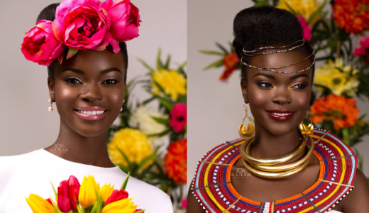 International Womens Day - Joy Adenuga Chinese Bridal Makeup LoveweddingsNG feat 1