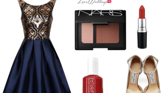 LoveweddingsNG Wedding Guest Look Polyvore
