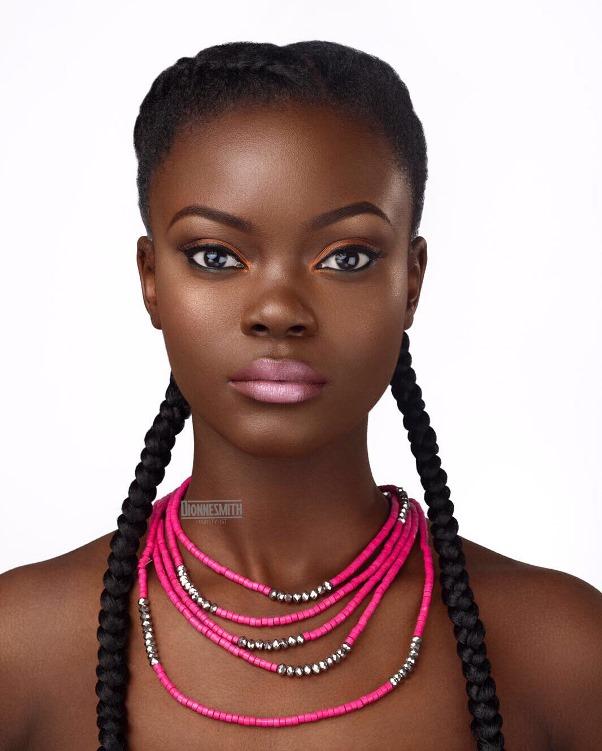 Natural Hair Bridal Inspiration Dionne Smith LoveweddingsNG 2