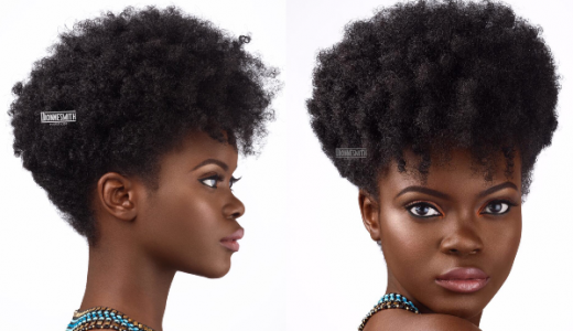 Natural Hair Bridal Inspiration Dionne Smith LoveweddingsNG feat
