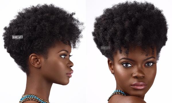Natural Hair Bridal Inspiration Dionne Smith LoveweddingsNG feat